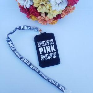 PINK ID HOLDER WALLET